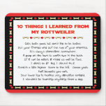 Funny Things I Learned From My Rottweiler Mouse Mats