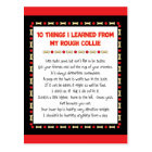 Funny Things I Learned From My Rough Collie Postcard