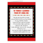 Funny Things I Learned From My Shiba Inu Greeting Card