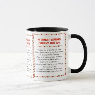 Funny Things I Learned From My Shih Tzu Mug