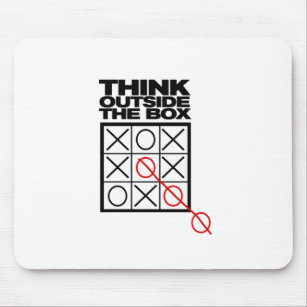 outside the box office. Perfect Outside Funny Think Outside The Box Mouse Mat For The Box Office N
