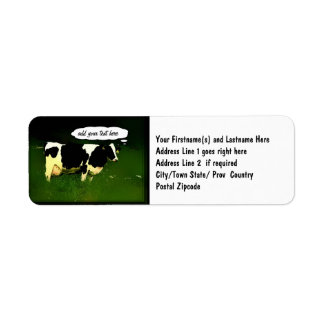Funny Thinking Cow