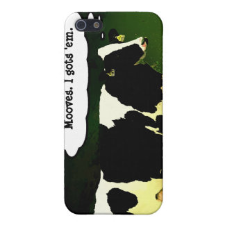 Funny Thinking Cow iPhone 5 Covers