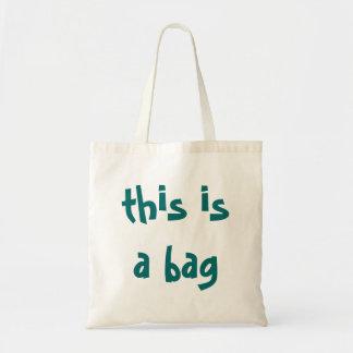 Funny this is a bag reusable enviro shopping bag