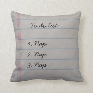 Funny To Do List Cushion