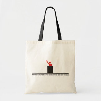 Funny - To succeed in politics Canvas Bag