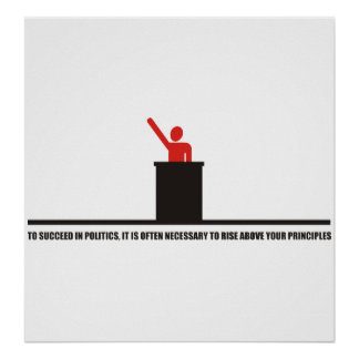 Funny - To succeed in politics Poster