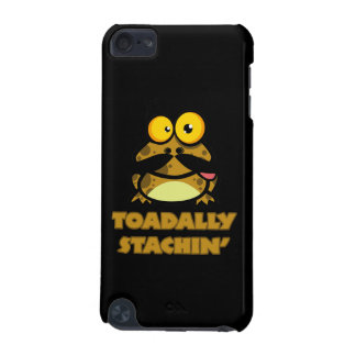 funny toadally stachin toad with a mustache iPod touch 5G cover