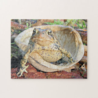 Funny TOADLY SEXY Toad Jigsaw Puzzle