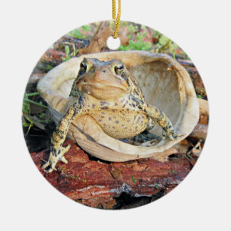 Funny TOADLY SEXY Toad Round Ceramic Decoration