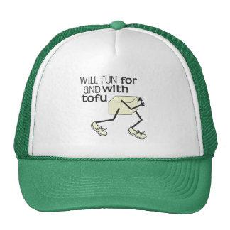 Funny TOFU Runner Mesh Hat