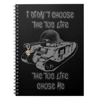 Funny TOG II Spiral Notebook