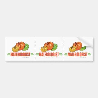 Funny Tomatoes Bumper Sticker