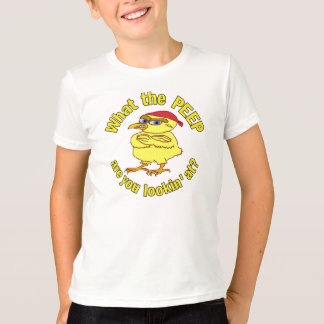 Funny Tough Easter Chick T-Shirt