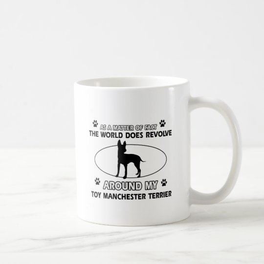 Funny toy manchester terrier designs coffee mug