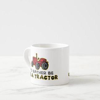 Funny Tractor Espresso Cup