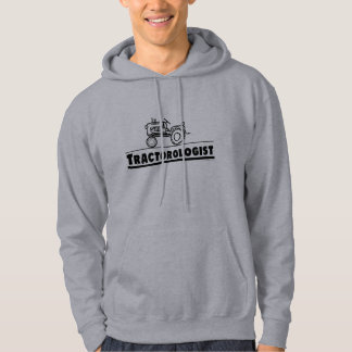 Funny Tractor Hooded Pullover
