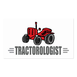 Funny Tractor Love Business Card Template