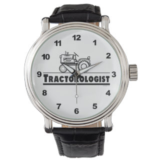Funny Tractor Lover Wristwatch