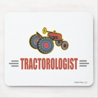 Funny Tractor Mouse Mat