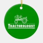 Funny Tractor Ornaments