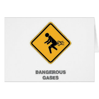 funny traffic sign card