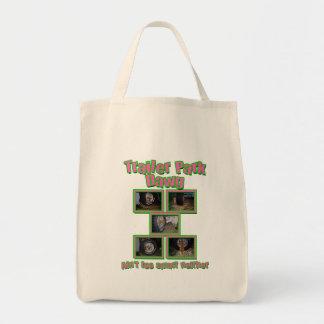 Funny Trailer Park Dawg Tote Bag