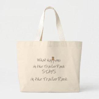 Funny Trailer Park Shirt Tote Bag