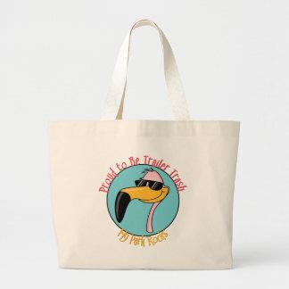 Funny Trailer Park Shirts and Gifts Jumbo Tote Bag