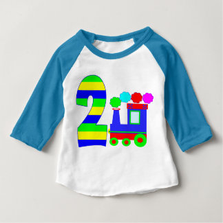Funny train 2 years old baby T-Shirt