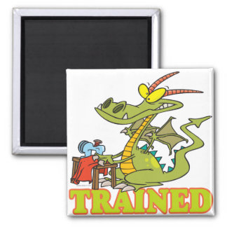 funny trained dragon cartoon character magnet