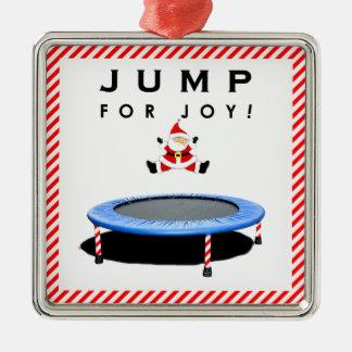 Funny Trampoline Christmas Christmas Ornament