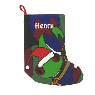 Funny Tree Frog Art Christmas Stocking