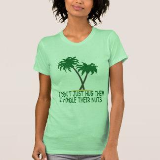Funny treehugger women's tshirts