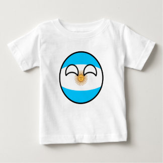 Funny Trending Geeky Argentina Countryball Baby T-Shirt