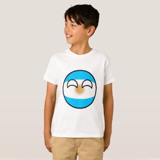 Funny Trending Geeky Argentina Countryball T-Shirt