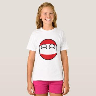 Funny Trending Geeky Austria Countryball T-Shirt
