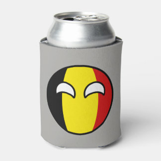 Funny Trending Geeky Belgium Countryball Can Cooler