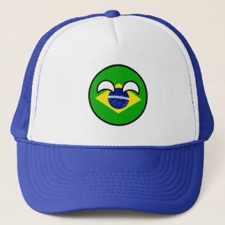 Funny Trending Geeky Brazil Countryball Trucker Hat