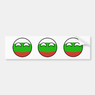 Funny Trending Geeky Bulgaria Countryball Bumper Sticker