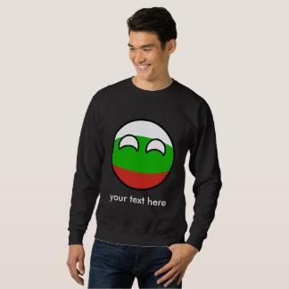 Funny Trending Geeky Bulgaria Countryball Sweatshirt