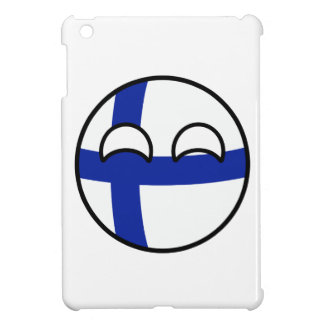 Funny Trending Geeky Finland Countryball iPad Mini Covers