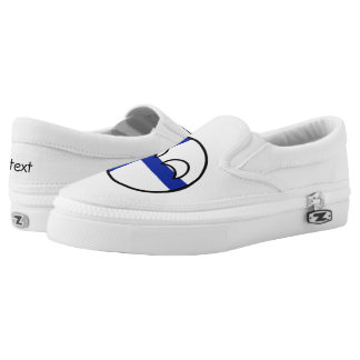 Funny Trending Geeky Finland Countryball Slip-On Shoes