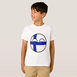 Funny Trending Geeky Finland Countryball T-Shirt