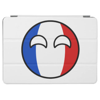 Funny Trending Geeky France Countryball iPad Air Cover