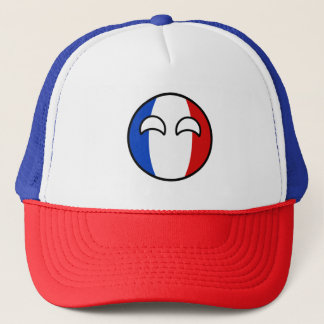 Funny Trending Geeky France Countryball Trucker Hat