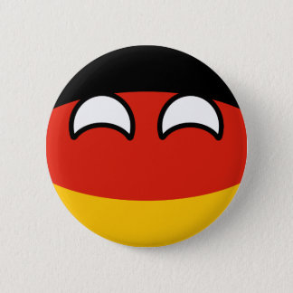 Funny Trending Geeky Germany Countryball 6 Cm Round Badge