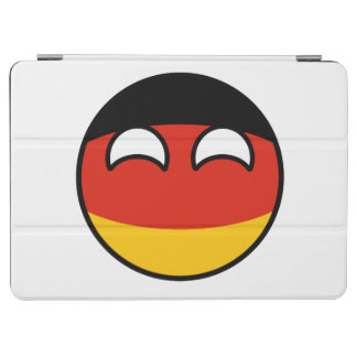 Funny Trending Geeky Germany Countryball iPad Air Cover