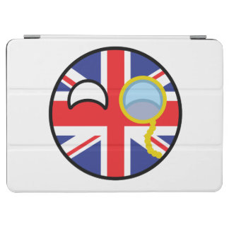 Funny Trending Geeky United Kingdom Countryball iPad Air Cover
