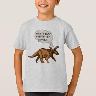 Funny Triceratops Dinosaur T-Shirt